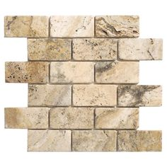 Found it at Wayfair - Philadelphia Travertine Mosaic Tile Sheet in Beige & Grey (Set of 10)http://www.wayfair.com/daily-sales/p/All-in-a-Row%3A-Easy-Tile-Updates-Philadelphia-Travertine-Mosaic-Tile-Sheet-in-Beige-%26-Grey-%28Set-of-10%29~FBER1477~E13265.html?refid=SBP.ERkQrAlqrVDxEiNnAjq_Y8w_quCxaU8PjvwQwbwllMs