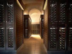 Mansions with Luxury Wine Cellar | Trendy Underground Wine Cellar Design