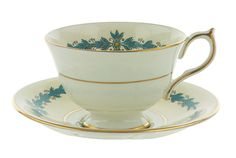 Aynsley Cup and Saucer Set Cambridge Pattern 7818 by PlumsandHoney