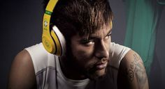 Even though top football stars such as Luis Suarez, Neymar, and Wayne Rooney wear them, the popular Beats brand of headphones are banned at World Cup grounds when it comes to players wearing them. Mario Gotze, Bastian Schweinsteiger, Wayne Rooney, Beats By Dre, Soccer World, Neymar Jr, Studio Shoot, Tv Commercials, Fifa World Cup