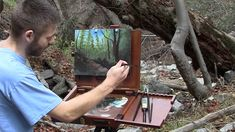 Do you enjoy plein air paintings? Watch Kevin do a special plein air painting for reaching 100,000 subscribers on YouTube! For more information about DVDs, brushes and more go to www.paintwithkevin.com