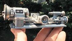 3-speed 6 volt model of a Unimat SL lathe