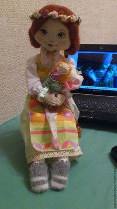 boneca de pano com molde
