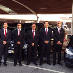 Our chauffeurs always wear dark suites, plain shirts, modest ties, black shoes reflecting the market we serve and our vehicles are also professional presented. #Algarve #chauffeurs #airporttransfers