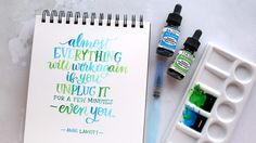 Brush Lettering with