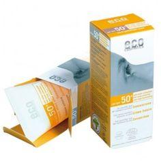 Crème solaire bio de haute protection sans filtres solaires chimiques! De puissants filtres minéraux vous protègent des UVA et UVB.