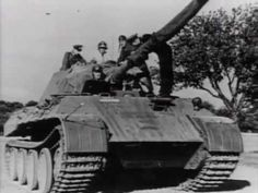 German War Files - Panther, The Panzer V (Footage!) - http://www.warhistoryonline.com/war-articles/german-war-files-panther-the-panzer-v-footage.html