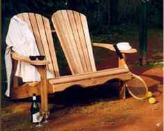 Bear Chair Cedar Chaise Lounge Kit