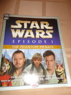 Electronics, Cars, Fashion, Collectibles, Coupons and Star Wars Books, The Phantom Menace, Star Wars Episodes, Movie Photo, The Voice, Actors, Reading, Movies, Ebay