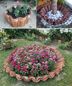 Sobra de obra no jardimConcrete leaf cover w thin layer add wire mesh more concrete smooth cover and let cure spritz if it s hot basin planter bird bath salvabrani – Fresh Front Yard and Backyard Landscaping Ideas for 2019 If you're anything Garden Planters, Succulents Garden, Herb Garden, Flowers Garden, Chicken Garden, Urban Planters, Diy Garden, Garden Deco, Garden Club