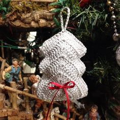 #OrnamentChristmas uncinetto Natale
