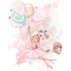 Cute Flower Wallpapers, Mermaid Wallpapers, Watercolor Lettering, Watercolor Art, Little Mermaid Wallpaper, Baby Girl Clipart, Kawaii Disney, Abstract Face Art, Kids Room Wall Decals