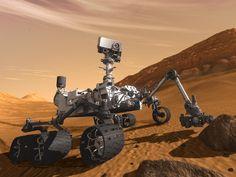Artist concept features NASA's Mars Science Laboratory Curiosity rover. Image credit: NASA/JPL-Caltech
