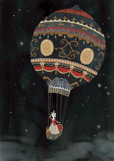 The first flight - By Morena Forza ~ My illustration print on sale.