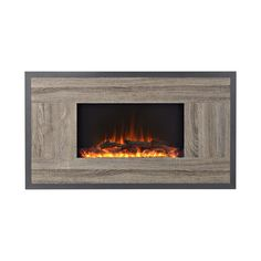Features:  -Dual heat settings: High (1,500 watts) and low (750 watts), 120V.  -Large viewable area.  -Provides supplemental heat for up to 400 square feet.  -Realistic log effect and adjustable brigh