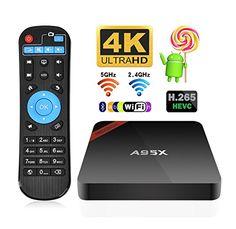 NEXBOX A95X 2GB 16GB Quad-Core Android TV Box - Amlogic S905 4K H265 Dual-Band 2.4/5GHz WiFi Bluetooth 4.0 IR Remote | Streaming Media Player Reviews