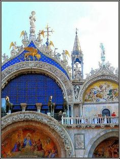 Basilica di San Marco, Venice - Italy. | Most Beautiful Pages