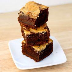 A Bitchin' Kitchen: Peanut Butter Cheesecake Swirl Brownies