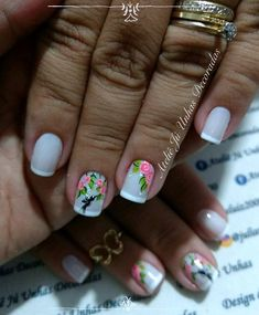 33 super romantic decorated nails, you will love - Decoration and Fashion Love Decorations, Manicure And Pedicure, Lily, Nail Art, Romantic, How To Make, Beautiful, Beauty Stuff, Portal
