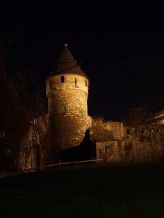 Maastricht in de nacht