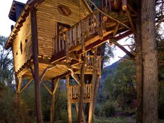 Out on a limb: 13 treehouses fit for adults --> http://www.hgtvgardens.com/treehouses/out-on-a-limb-a-treehouse-is-a-personal-paradise-no-matter-where-you-plunk-it?soc=pinterest
