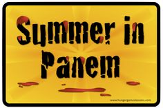 Hunger Games Lessons: What Summer Brings in Panem {Things That Make Me Go Hmmm}