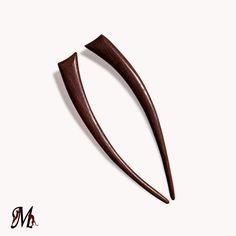 Wooden Hair Sticks Hair Fork Hairpin Hair by mariya4woodcarving, $32.00