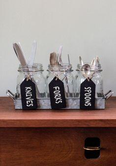 Backyard Jam Jar Set | Mod Retro Vintage Kitchen | ModCloth.com