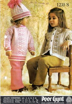Ellen Christine 1235 S Norwegian Knitting, Baby Barn, Knitting Patterns, Knitting Ideas, Knitting For Kids, Vintage Knitting, Yarn Crafts, Crochet, Hipster
