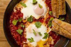 Shakshuka - eggs in tomatoes