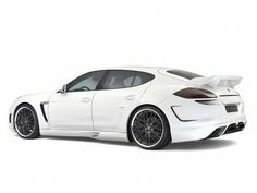 Look at that! 2011 Hamann Porsche Panamera Widebody: Image: Hamann.