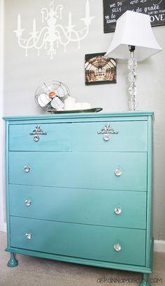 Chalk paint dresser makeover -- Ask Anna