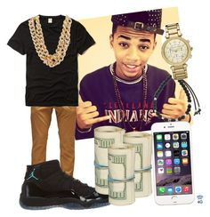 """Going shopping later who wanna come?"" by official-trill007 ❤ liked on Polyvore"