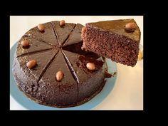 Un Yok Süt Yok Yoğurt Yok Pamuk Gibi Çikolata Soslu Kek Tarifi💯BERA TATLİDUNYASİ - YouTube
