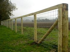 Wire Mesh Fence with Top Board
