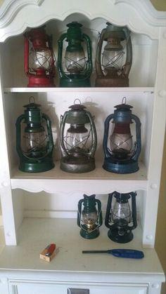 Kerosene cold blast lanterns