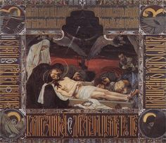 'Shroud of Christ', 1901 by Victor Vasnetsov Russia) Religious Paintings, Religious Art, Photography Illustration, Illustration Art, Illustrations, Art Magique, Our Lady Of Sorrows, Templer, Art Database