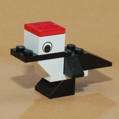 specht van lego Van Lego, Lego Animals, Lego Activities, Lego Projects, Lego Instructions, Lego Duplo, Legos, Diy And Crafts, Creatures