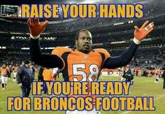 Ready to see you Von Miller all ova Cam Newton! Sack him then Salute him! The Mile High way ; Denver Broncos Football, Go Broncos, Football Love, Broncos Fans, Football Season, Fantasy Football Funny, John Elway, Championship Game, Professional Football