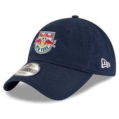 054134cbaf5 Men s New York Red Bulls New Era Navy Team Logo 9TWENTY Adjustable Hat