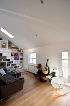 Loft Space in Camden by Craft Design | HomeDSGN, a daily source for inspiration and fresh ideas on interior design and home decoration.