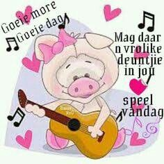 Goeie More Baby Animals, Funny Animals, Cute Animals, Cute Qoutes, Afrikaanse Quotes, Goeie Nag, Goeie More, Cancer Quotes, Day Wishes