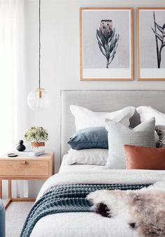 Bedroom Inspo The bedroom of - Architecture and Home Decor - Bedroom - Bathroom - Kitchen And Living Room Interior Design Decorating Ideas - Bedroom Inspo, Home Decor Bedroom, Modern Bedroom, Trendy Bedroom, Art For Bedroom, Scandinavian Bedroom, Gray Bedroom, Bedroom Colors, Bedroom Neutral