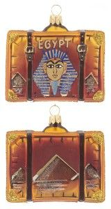 Egypt Suitcase - wonders of the world