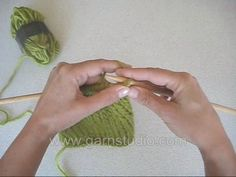 DROPS Knitting Tutorial: How to bind off right side