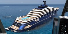 The world's largest yacht - Somnio - has been unveiled and she's so big a new category has been coined for her – 'yacht liner' Luxury Condo, Luxury Apartments, Luxury Houses, Air France, Abu Dhabi, Air Europa, Private Yacht, Private Jet, Cool Mirrors