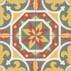 Cement Tile Shop - Handmade Cement Tile | New Orleans