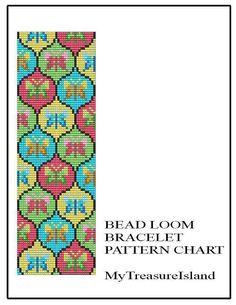 Bead Loom Vintage Sajou 1 With Butterflies by MyTreasureIsland, $5.50