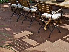 Schellevis 60x60 cm terrastegel rood/bruin