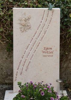 Handwerkliche Grabsteine | Steinmetz Herbert Baldauf Immenstadt Allgäu